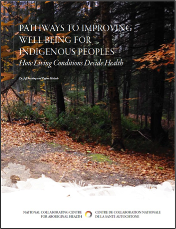 Pathways to improving well-being for Indigenous peoples:  How living conditions decide health