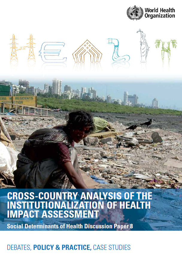 Cross-country analysis of the institutionalization of health impact
