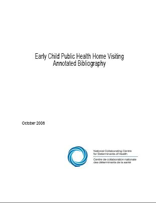Early Child Public Health Home Visiting Annotated Bibliography