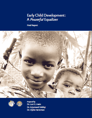 Early child development: A powerful equalizer