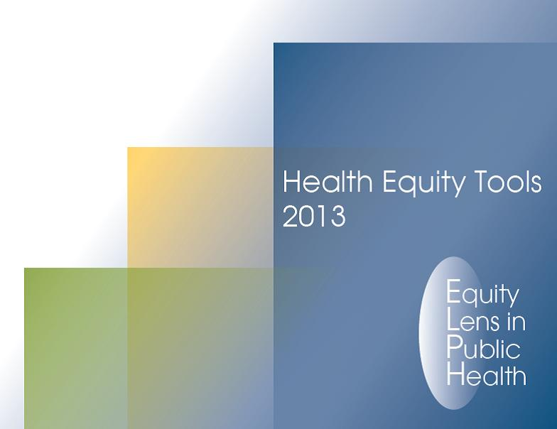 Health equity tools