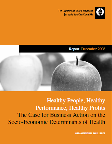 Healthy People, Healthy Performance, Healthy Profits