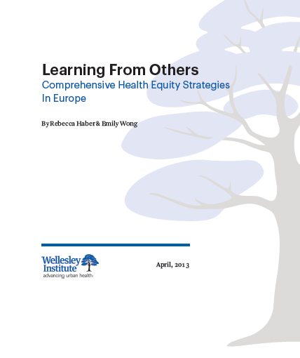 Learning from others: Comprehensive health equity strategies in Europe
