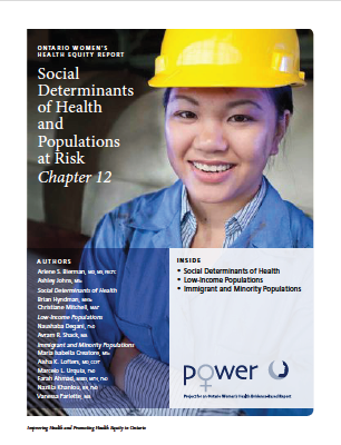 The Ontario Women's Health Equity Report. Chapter 12: SDOH and Populations at Risk