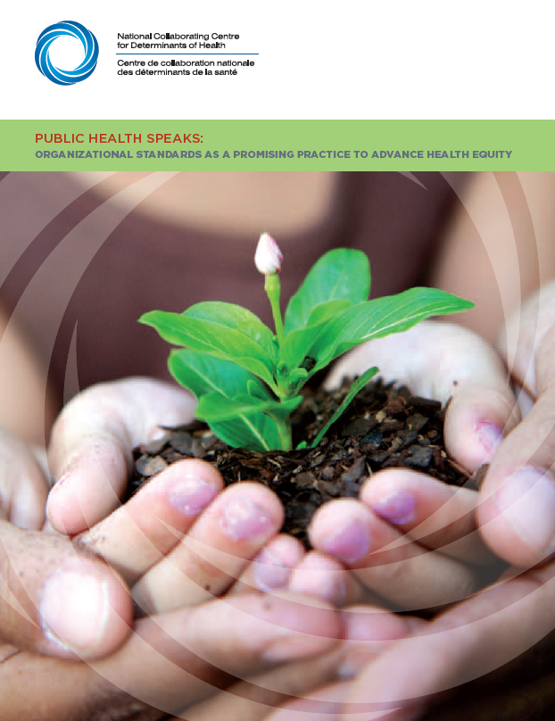 Public Health Speaks: Organizational standards as a promising practice for health equity
