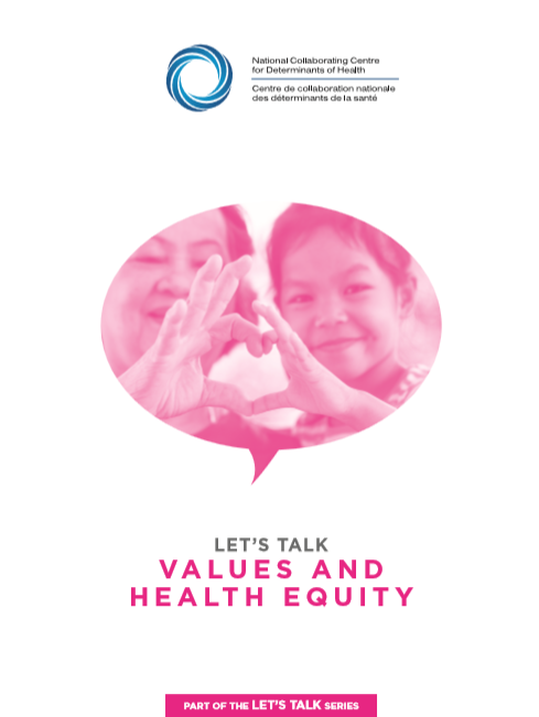 Let's Talk: Values and health equity