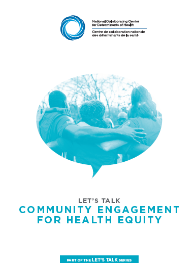Let's Talk: Community engagement for health equity