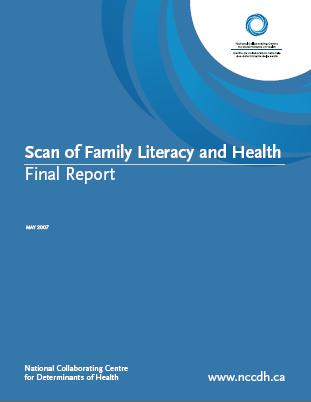Scan of family literacy and health: Final report