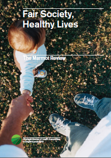 Fair society, healthy lives: The Marmot survey - Strategic review of health inequalities in England post-2010