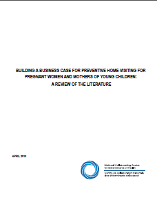 Building a business case for preventive home visiting for pregnant women and mothers of young children: A review of the literature