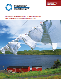 Leadership for health equity: Working intersectorally and engaging the community in Western Health