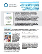 Principales ressources de la santé publique sur le plaidoyer et l'équité en santé : liste des lectures essentielles