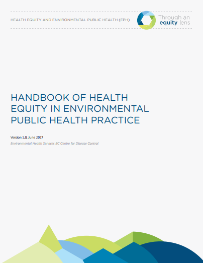 Handbook of Health Equity in Environmental Public Health Practice