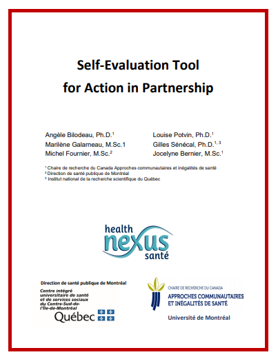 Self-Evaluation Tool for Action in Partnership