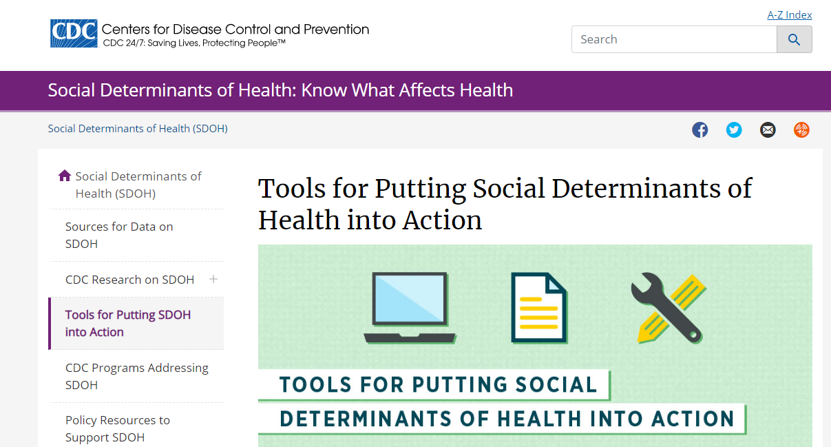 Social determinants of health: Know what affects health