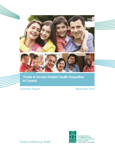 Trends in Income-Related Health Inequalities in Canada: Summary Report