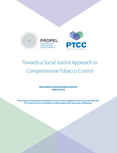 Towards a social justice approach to comprehensive tobacco control