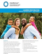 Learning from Practice: Advocacy for health equity - Food security