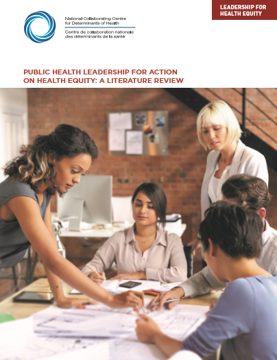 Public health leadership for action on health equity: A literature review
