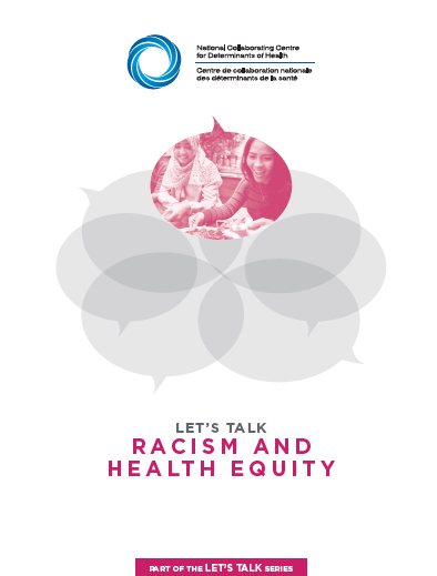 Let's Talk: Racism and health equity
