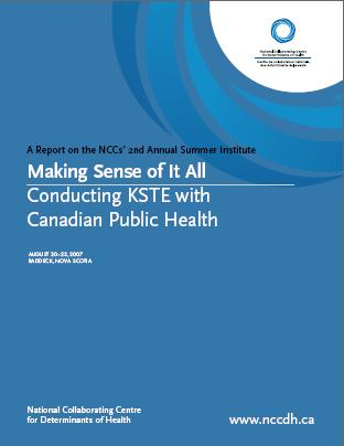 Making Sense of it All: Conducting KSTE with Canadian Public Health