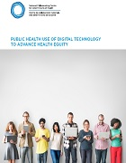 Public health use of digital technology to advance health equity
