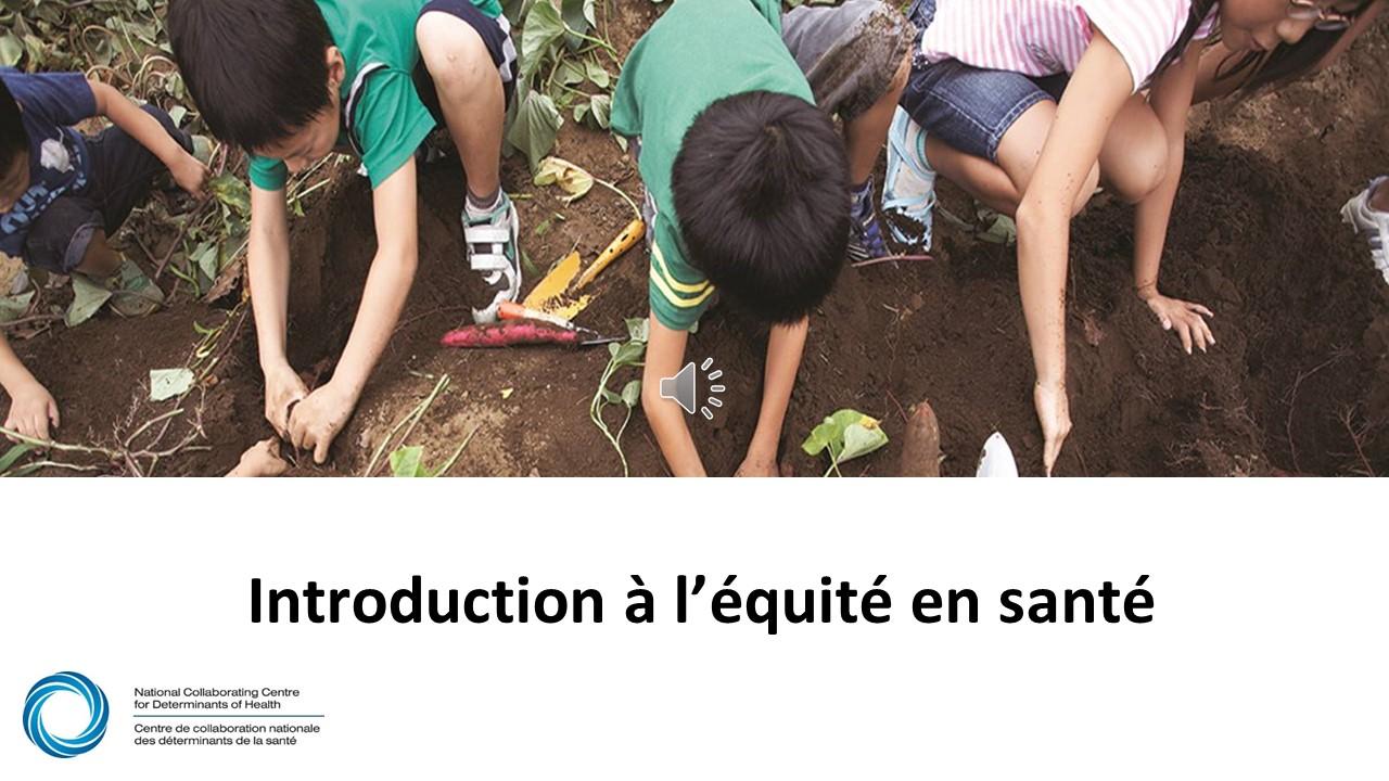 Webinaire 1 du PHESC : Introduction à l'équité en santé