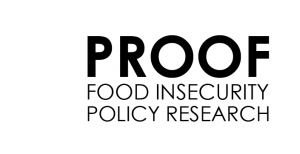 PROOF – Research to identify policy options to reduce food insecurity
