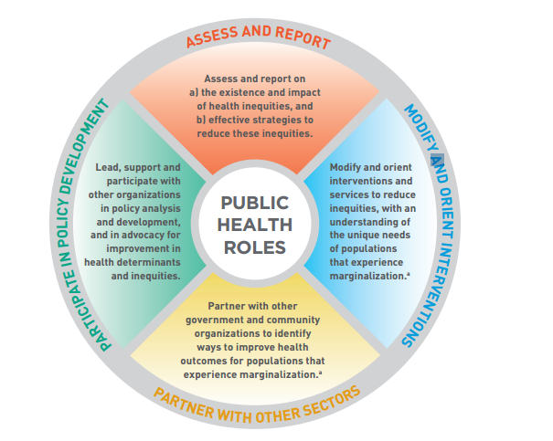 Who Is Using The Public Health Roles For Health Equity