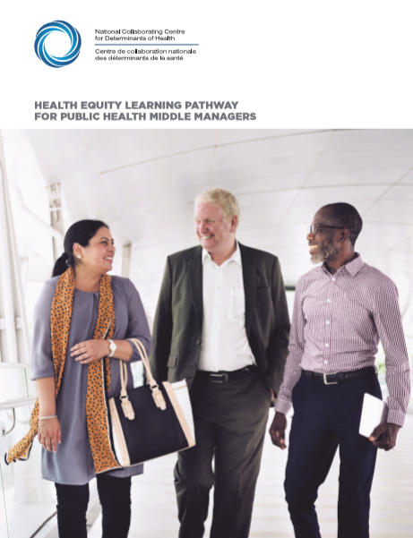 Health equity learning pathway for public health middle managers