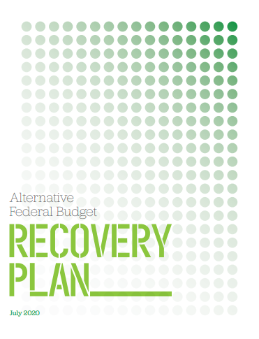 Alternative federal budget recovery plan