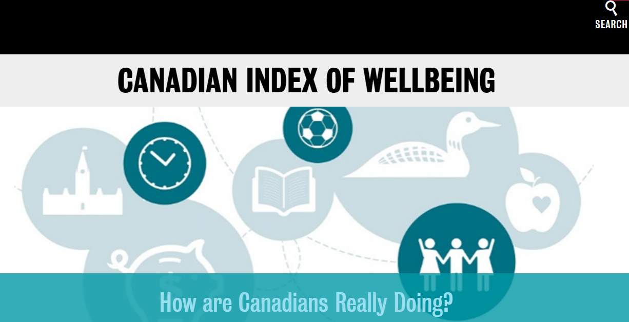 Canadian index of wellbeing
