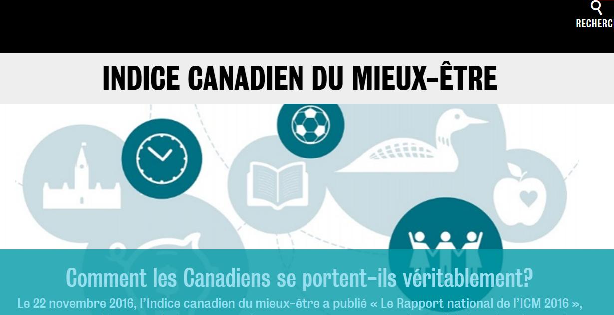 Indice canadien du mieux-être