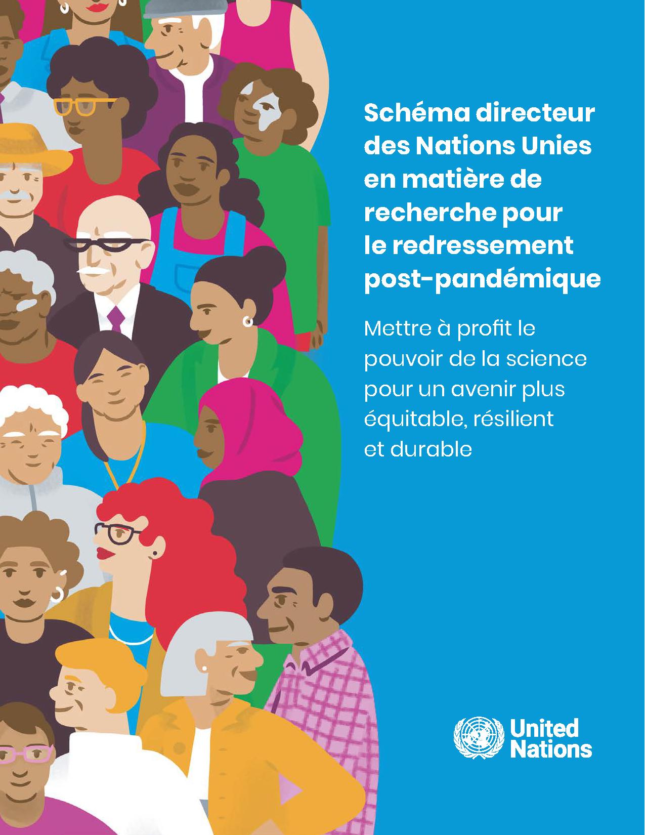 Schéma directeur des Nations Unies en matière de recherche pour le redressement post-pandémique