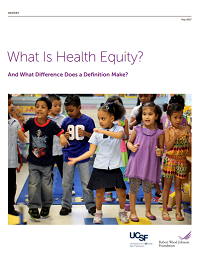 What Is Health Equity? And What Difference Does a Definition Make?