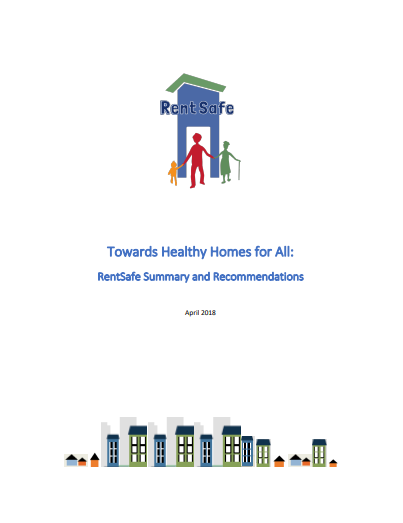 Toward healthy homes for all: RentSafe summary and recommendations