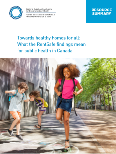 Towards healthy homes for all: What the RentSafe findings mean for public health in Canada