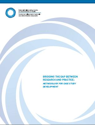 Bridging the gap between research and practice: Methodology for case study development