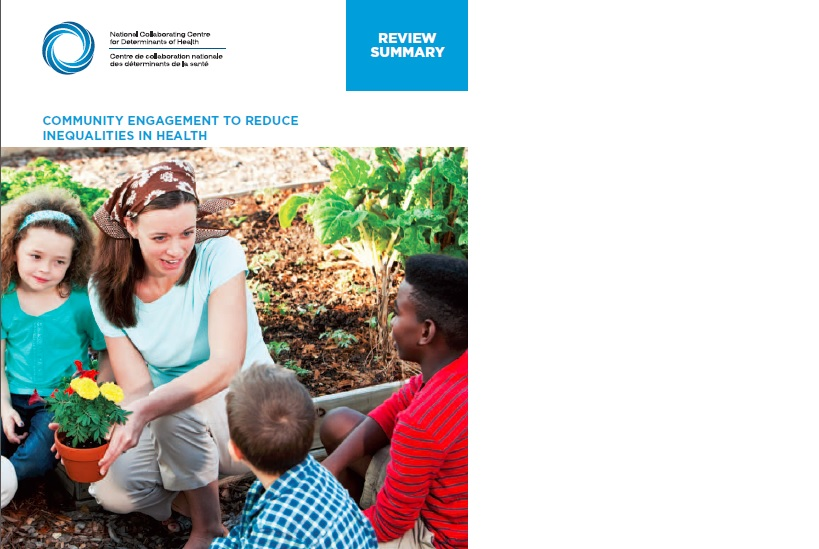 Review summary: Community engagement to reduce inequalities in health