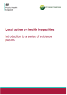 Local action on health inequalities: Introduction to a series of evidence papers